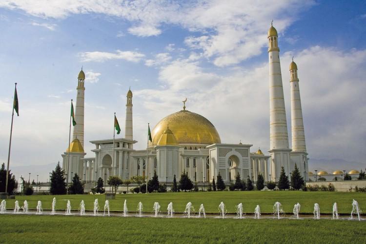 Ashgabat Turkmenbashi Mosque