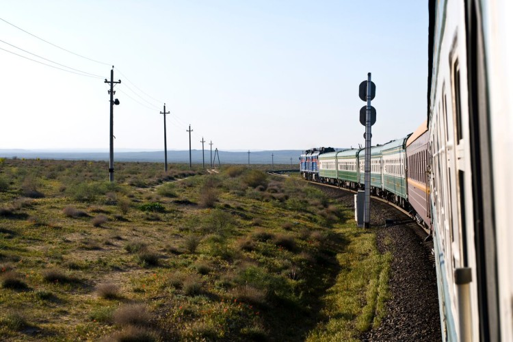 Orient Silk train