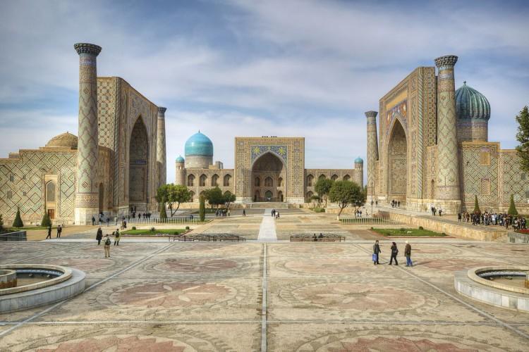 Samarkand-Registan Square